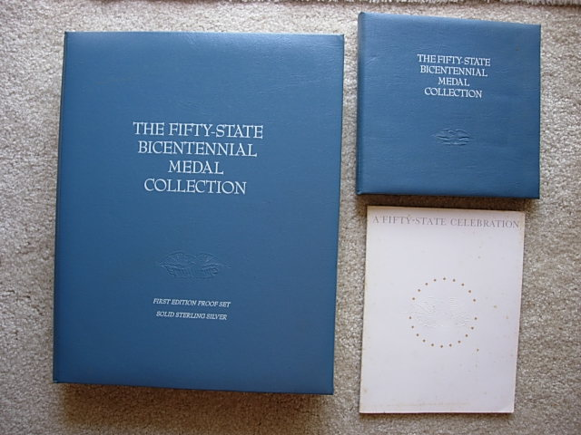 Franklin Mint Bicentennial Medals of the 50 States