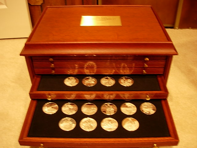 Franklin Mint 100 Greatest Masterpieces Medals