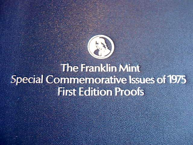 Franklin Mint Special Commemorative Issues Medals