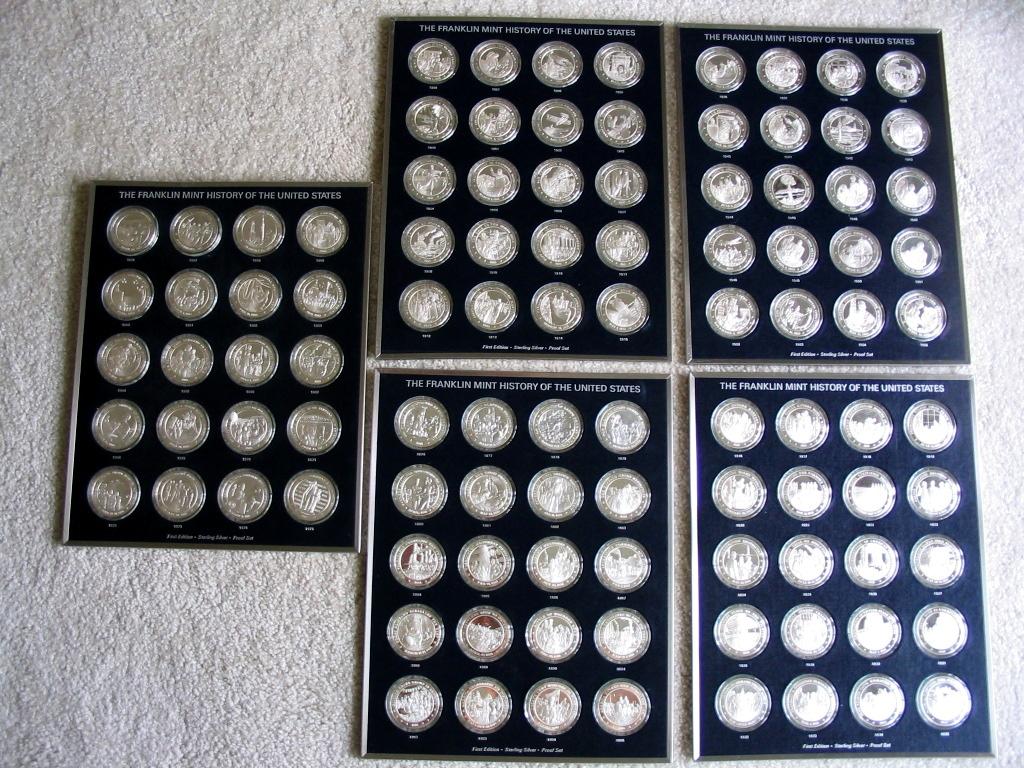 Franklin Mint History of the United States Medals