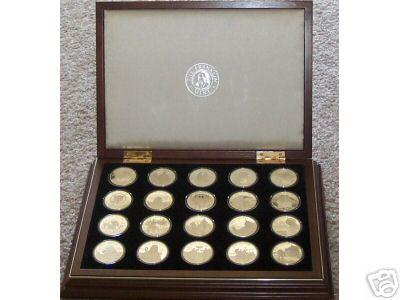 Franklin Mint Millennium Coins