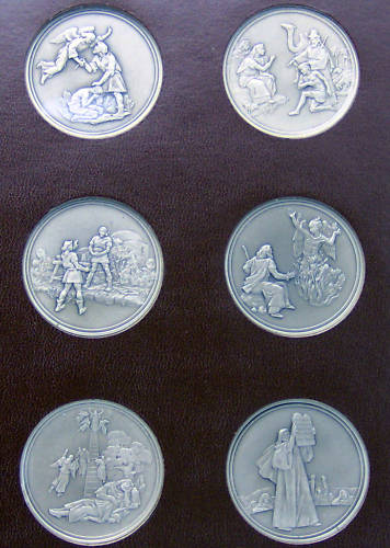 Franklin Mint Medals Ingots Coins
