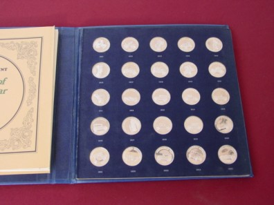 FRANKLIN MINT ANTIQUE CAR COIN COLLECTION SERIES 1 AUCTION